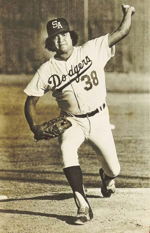 Fernando Valenzuela en San Antonio, sucursal AA de los Dodgers